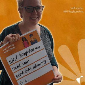 Plakat der BDKJ zum Weltfrauentag